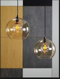 ikea jakobsbyn glass ceiling pendant lampshade light brown nearly new