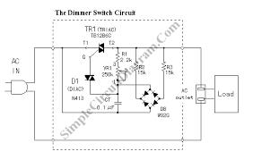 dimmer switch circuit diagram ireleast info circuit dimmer switch car wiring schematic diagram wiring circuit