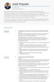 Sample Digital Marketing Resume