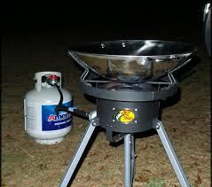 new outdoor wok burner