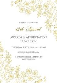 Appreciation Invitation Templates Best Of Invitation Wording For