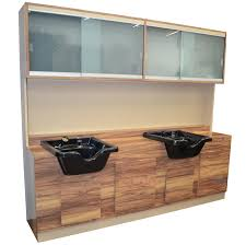 salon shampoo cabinets. Modren Shampoo Deluxe Shampoo Cabinet And Salon Cabinets Designers LA
