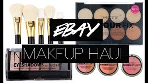 ebay makeup haul 3 uk makeup brush sets