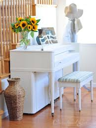 centsational girl painting furniture. Paint Furniture · Piano In Old White With Clear Wax By Centsational Girl! Girl Painting