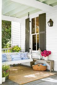 covered porch furniture. Texas Farmhouse Porch Covered Furniture