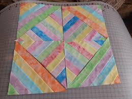 Strip Piecing the Pastel Quilt | Tim Latimer - Quilts etc & easter stripes 001 Adamdwight.com
