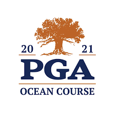 the image is of the PGA championship logo