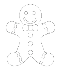 Gingerbread Coloring Pages Gingerbread Man Coloring Sheets Page