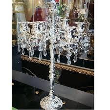standing chandelier centerpieces