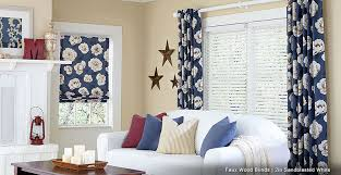wood blinds and curtains. Delighful Wood Faux Wood Blinds And Drapes For And Curtains