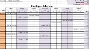 Work Schedule Spreadsheet Template Free Work Schedule Template Task List Templates