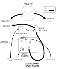 Ford Tractor Alternator Wiring Diagram