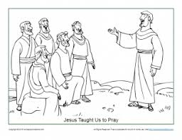 Kids who print and color sheets and pictures, generally acquire and use knowledge more parents, teachers, churches and recognized nonprofits may print or copy a page or multiple sheets for use in. Jesus Taught Us How To Pray Coloring Page