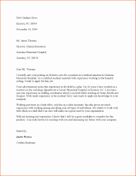 Cover Letter For A Medical Assistant Resume The Best Way To Write