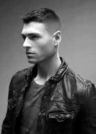 military high fade haircut for men with thin hair military high fade