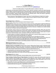 Mining Safety Manager Sample Resume Inspiration A Resume Template For A Construction Manager You Can Download It