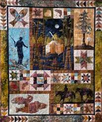 Wildlife Quilt Can use various themes for a man | Sewing & Quilts ... & QP3983