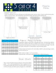 Pajama Pants Sewing Pattern Interesting Ideas