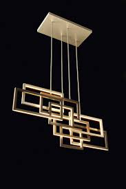 diffused lighting fixtures. Edge Pendant Lamp By Oasis, Design Massimiliano Raggi. LED Lights Diffused A Structure Of Aluminum, Bronze And Antiqued Gold. Lighting Fixtures O