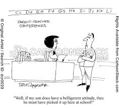 Teacher Cartoons Teacher Conferences Cartoons Parent