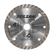 skil 4 1 2 in wet or dry turbo diamond circular saw blade