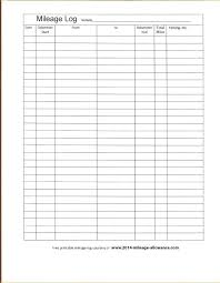 Free Printable Mileage Log For Taxes Free Mileage Log 1 Form Template For Taxes Excel Book App