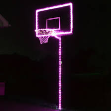 Basketball Hoop Led Light Glow In The Dark Basketball Hoop Lighting Kit Only