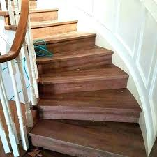 vinyl plank stair nosing tile how to do flooring on stairs wood