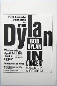 Amazon Com Oddtoes Music Memorabilia Bob Dylan Concert