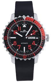 fortis b 42 marinemaster day date gmt automatic steel red mens please note as all of our watches this fortis b 42 marinemaster mens watch is brand new and in mint condition it comes in its original packaging