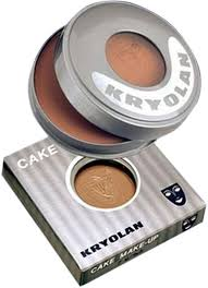 kryolan cake makeup powder ef 21 beige 40 gm