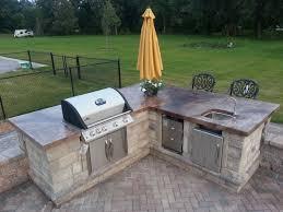 outdoor concrete countertops counter top outdoors new isamaremag com