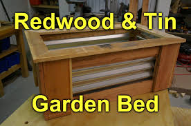Corrugated Raised Garden Bed Diy Project Youtube