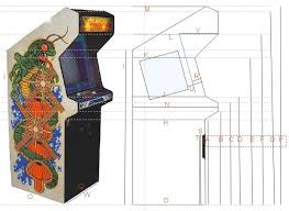 cool arcade cabinet plans on diy arcade cabinet plans pdf plans how to build pvc furniture