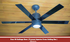fear of ceilings fans called