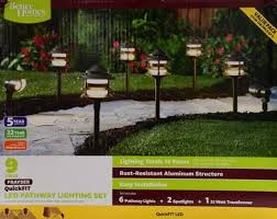 led pathway lights. Better Homes And Gardens 8 PC Frayser QuickFit LED Pathway Lighting Set   EBay Led Lights