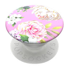Design Popsocket Cheap Popsockets Swappable Popgrip Pink Floral