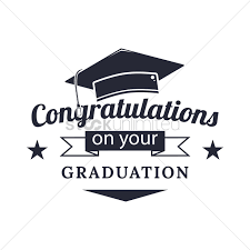 Congratulations For Graduation Congratulations On Your Graduation Vector Image 1824479