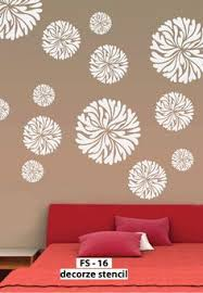 Small Picture Flower pattern designs for walls and these flower pattern stencils