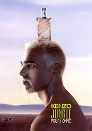 <b>Kenzo Jungle pour Homme</b> (1998) Advert with Satya Oblet {Perfume ...