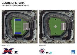 Globe Life Seating Chart Globe Life Park Conversion Plans Unveiled Ballpark Digest