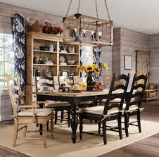 kincaid furniture homeing seven piece dining table and chair set item number 33