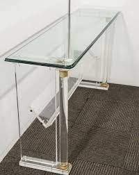 ... Large-size of Unique Narrow Crystal Acrylic Console Table Along With  Furniture Long Along With ...