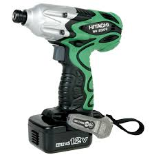 hitachi impact. hitachi power tools: products \u003e cordless 12-volt/10.8-volt wh12daf2 12v 1/4\u201d hex impact driver, electric brake hitachi