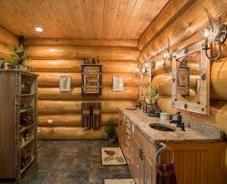 Log Cabin Bathroom Decor Log Home Bathroom Ideas Yes Yes Go