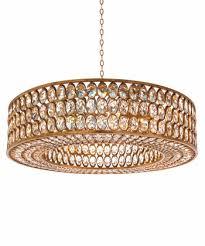 john richard lighting. johnrichard stately crystal gold leaf pendant john richard lighting n