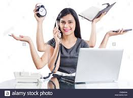 home office multitasking. 1 Indian Business Woman Office Multi Tasking Home Multitasking