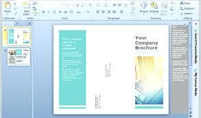 Free Online Pamphlet Maker India Half Fold Brochure Template