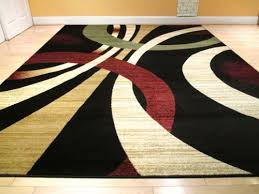 contemporary area rugs graft on clock for idea