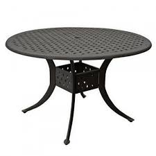 Aluminum Outdoor Dining Table 43 Cast Aluminum Outdoor Round Table Outdoor